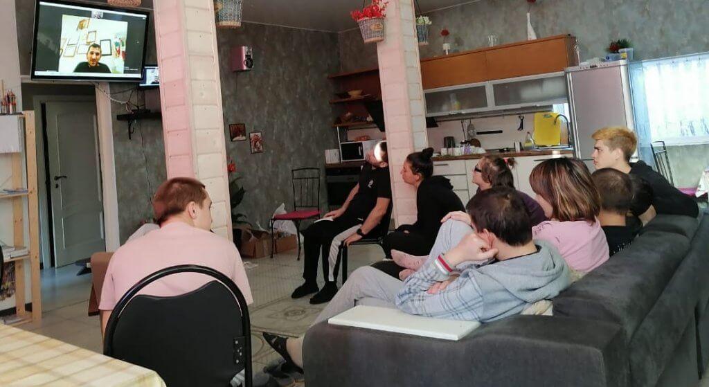 Лекция о ВИЧ в РЦ Логос