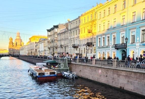 Экскурсия по городу Санкт-Петербург