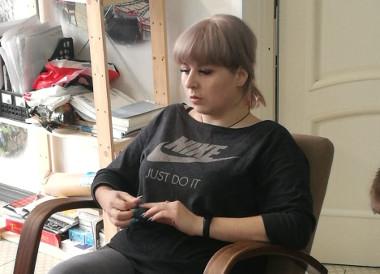 Выпускница посетила центр Логос